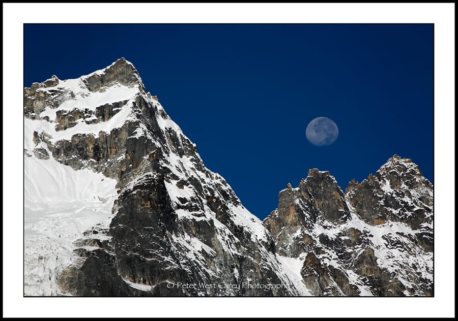 The Moon And The Mountains