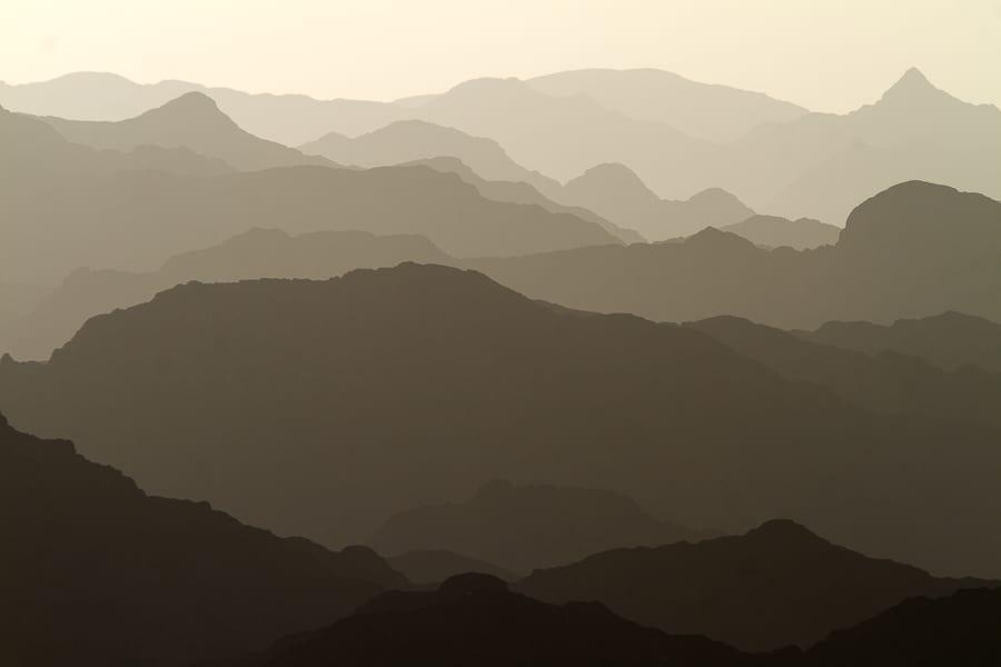 Layers, Al Hajar Mountains, Oman