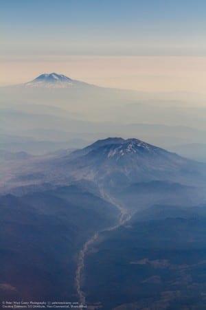 Mt. Adams & Mt. St. Helens