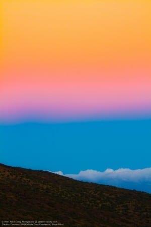 Just Past Sunset