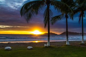 8824 - Costa Rica Beach Sunset
