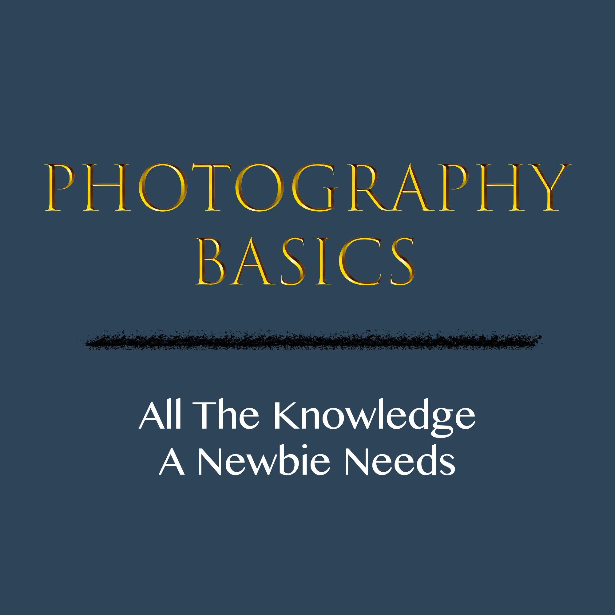 Photography Basics Logo