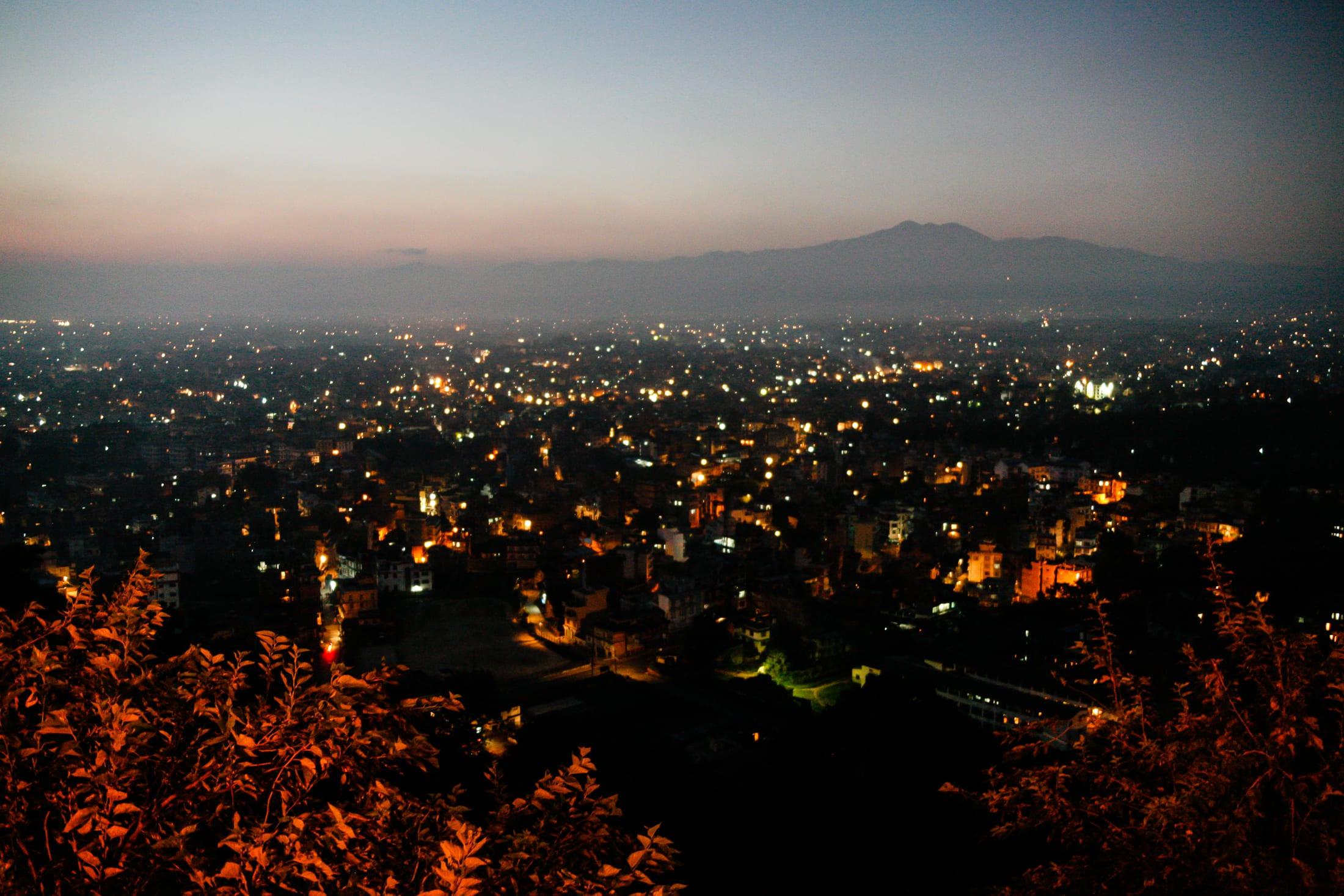 Kathmandu At Dawn